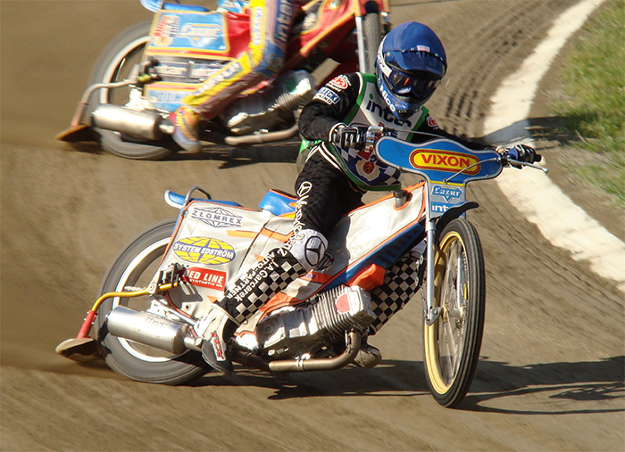 Speedway riders are the ultimate counter-steerers