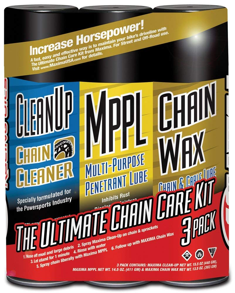Maxima's Chain Care Kit is an excellent all-in-one chain care solution