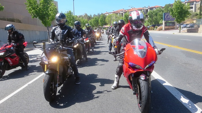 A successful group ride requires many more things to think about and consider than solo riding